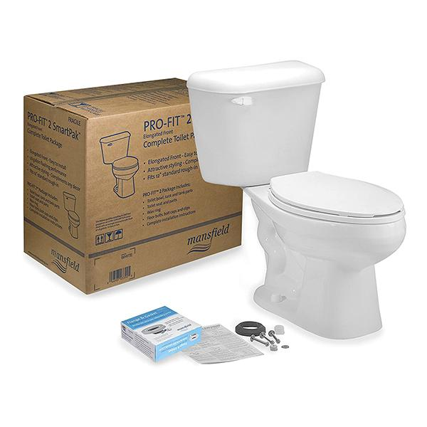 Mansfield Pro-Fit 2 Elongated Toilet