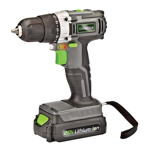 Genesis Battery Powered Drill/Driver
