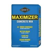 SAKRETE 65200016 Maximizer Concrete Mix, Gray, Solid, 40 lb Bag