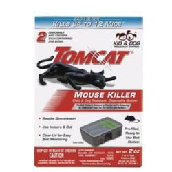 Tomcat 0370610 Disposable Mouse Bait Station, 2 oz Bait, 1 -Opening,