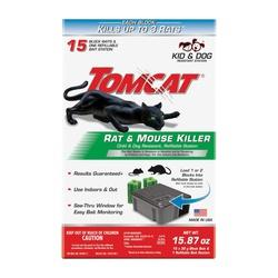 Tomcat 0370910 Refillable Rat Bait Station, Emerald Green