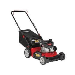 MTD 11A-A2SD766 Walk-Behind Push Mower, 140 cc Engine Displacement, 21 in W