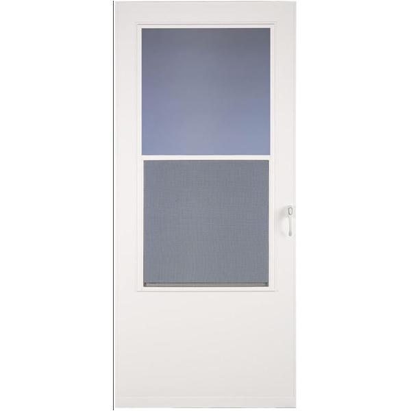 "36"" WHT STORM DOOR 830-14 WH HANDLE"