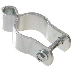 Hardware Essentials 852530 Pipe Gate Hinge, Steel, Zinc