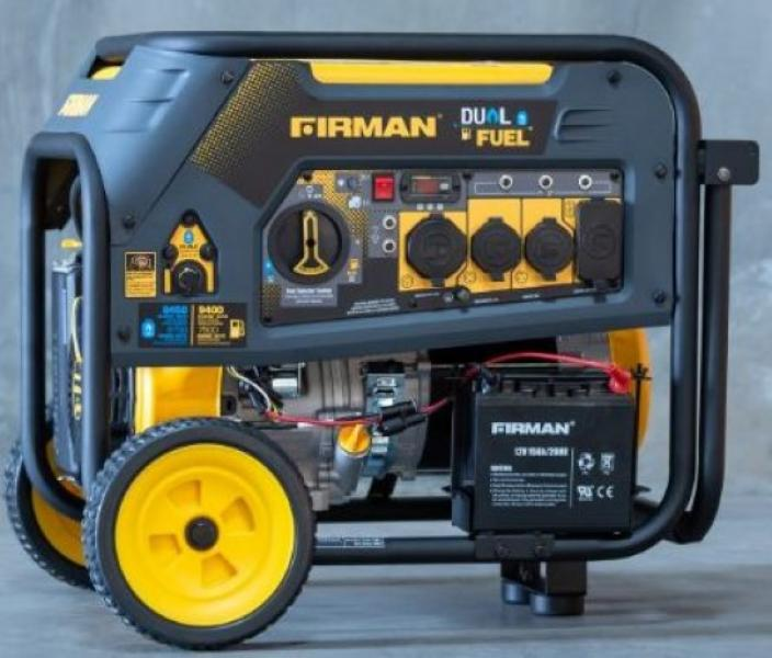 7,500 Watt Dual Fuel Generator - Reconditioned