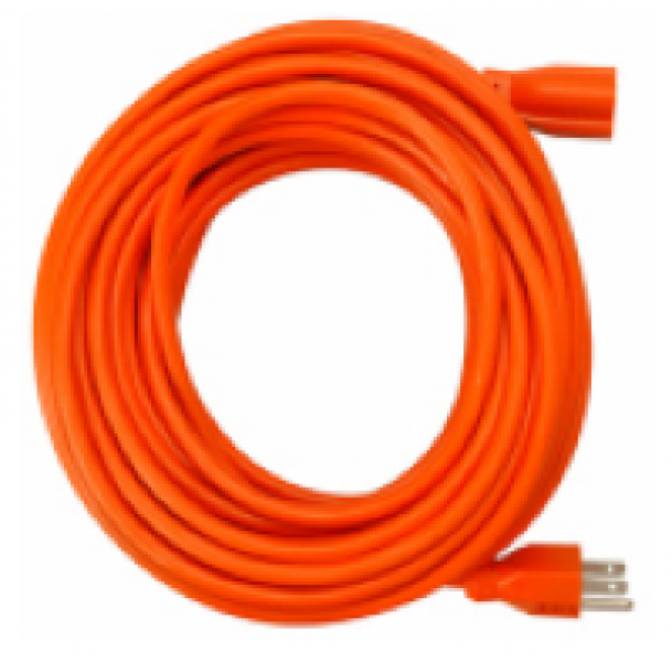 25' Extension Cord Interior/Exterior - Orange