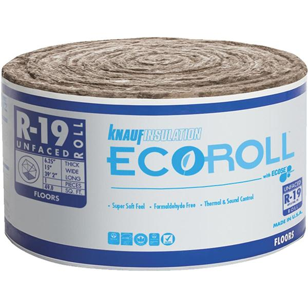 R19 Rolled Insulation - Unfaced